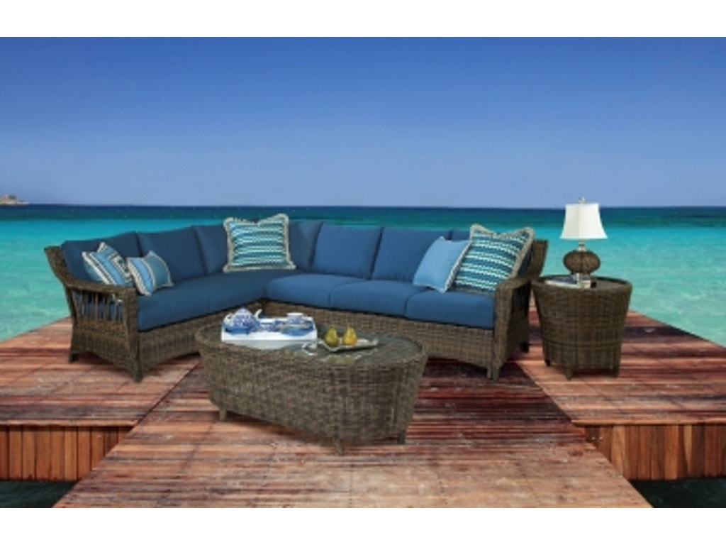 Simply outdoor furniture by lindys outdoorpatio st john sectional sku 78500 is available at hickory furniture mart in hickory nc and nationwide