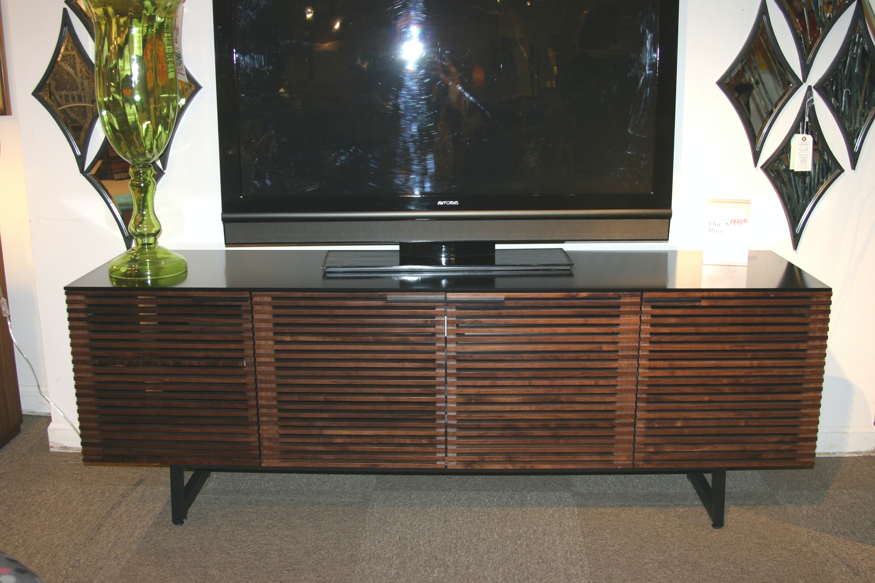 Reflections Furniture BDI Corridor Entertainment Center 8179