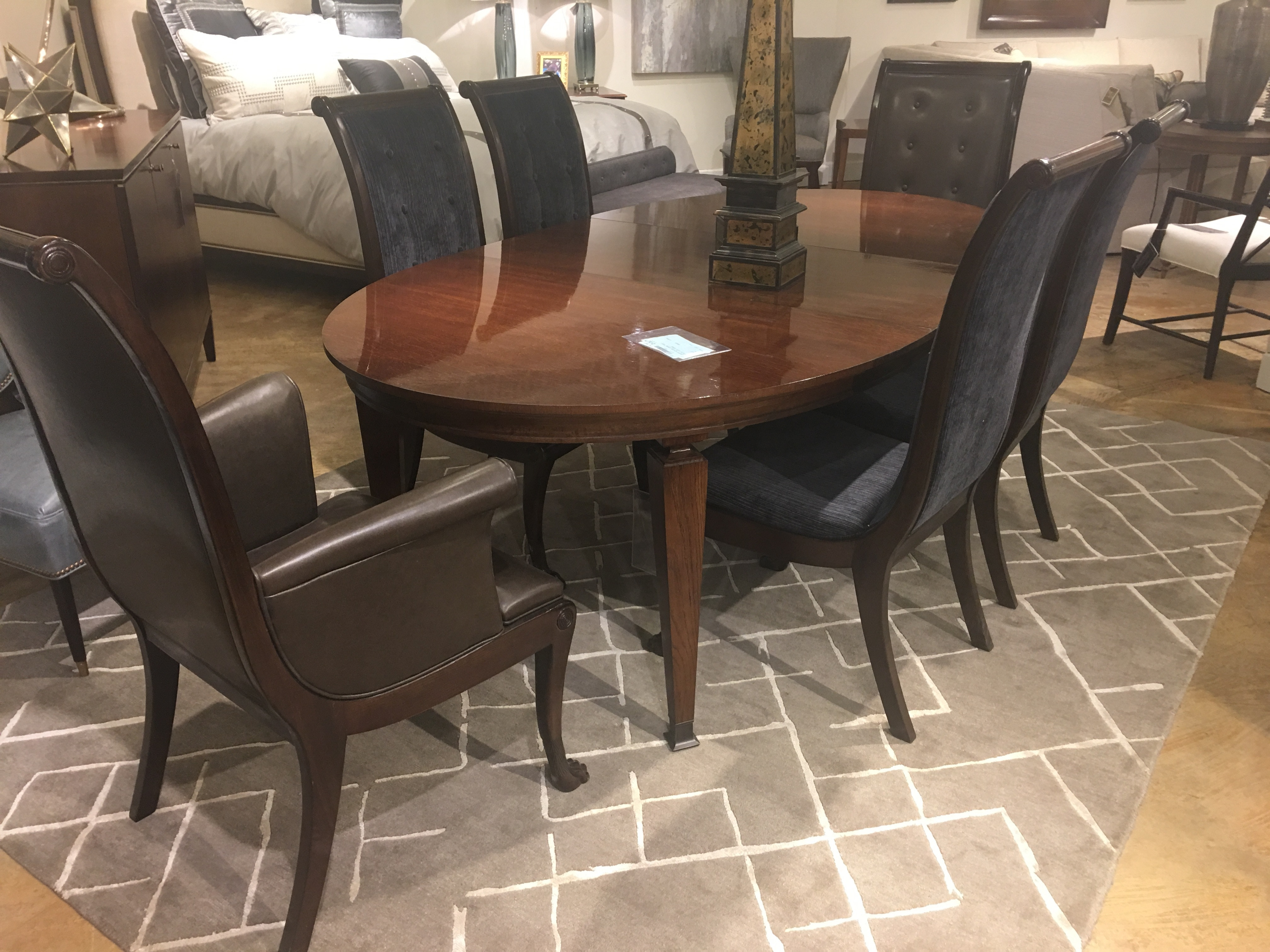 arlington round sienna pedestal dining room table w chestnut finish. ae9-301. finlay dining table arlington round sienna pedestal room w chestnut finish