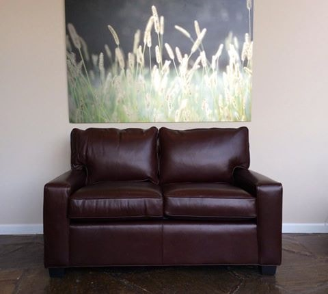 Mitchell Gold + Bob Williams Factory Outlet Living Room Alex 57 Leather  Loveseat In Cosby~Hero. (SKU: Alex 8) Is Available At Hickory Furniture  Mart In ...