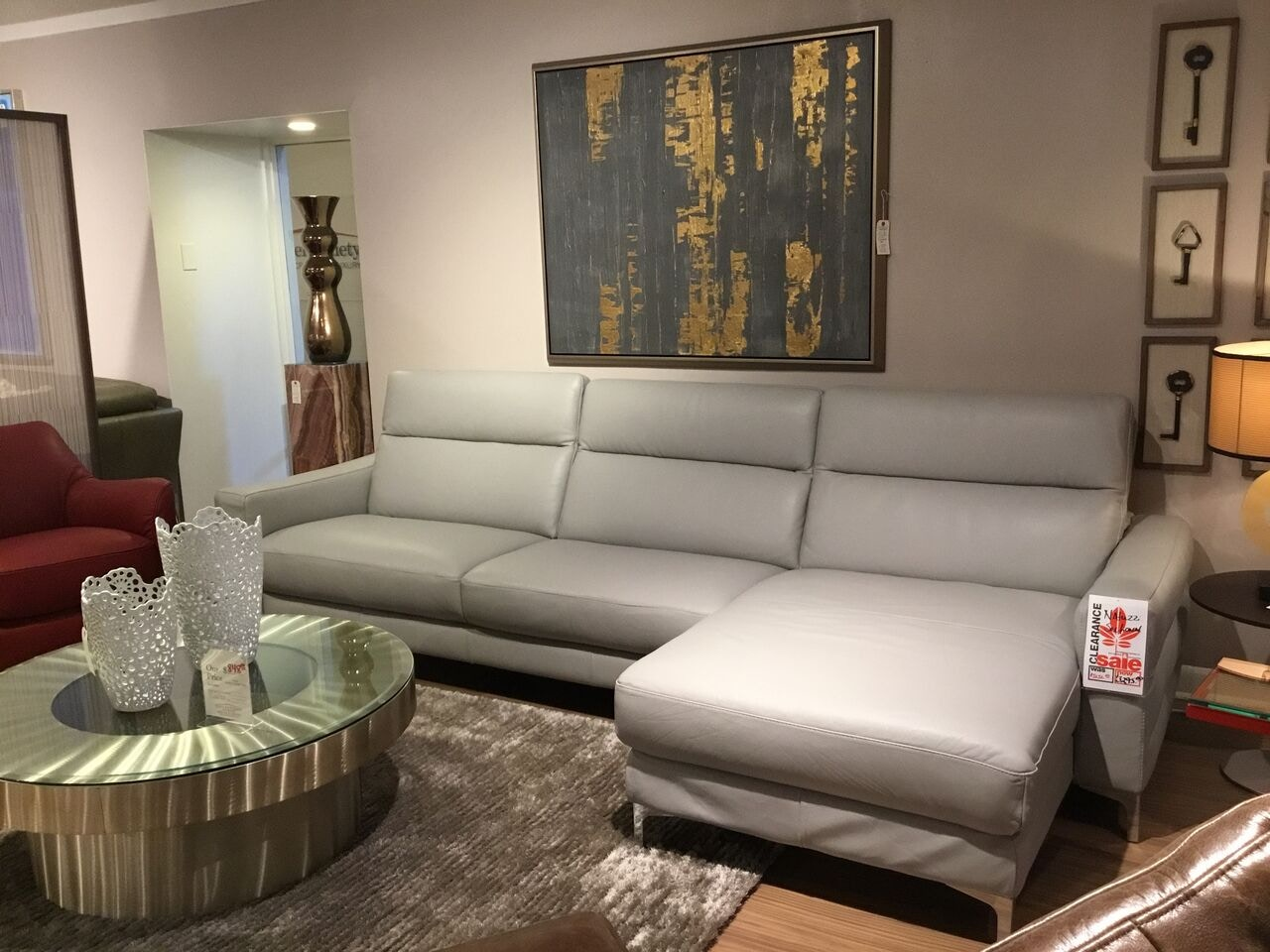 Reflections Furniture Outlet Living Room Natuzzi Leather Sectional (SKU:  B940) Is Available At Hickory Furniture Mart In Hickory, NC And Nationwide.