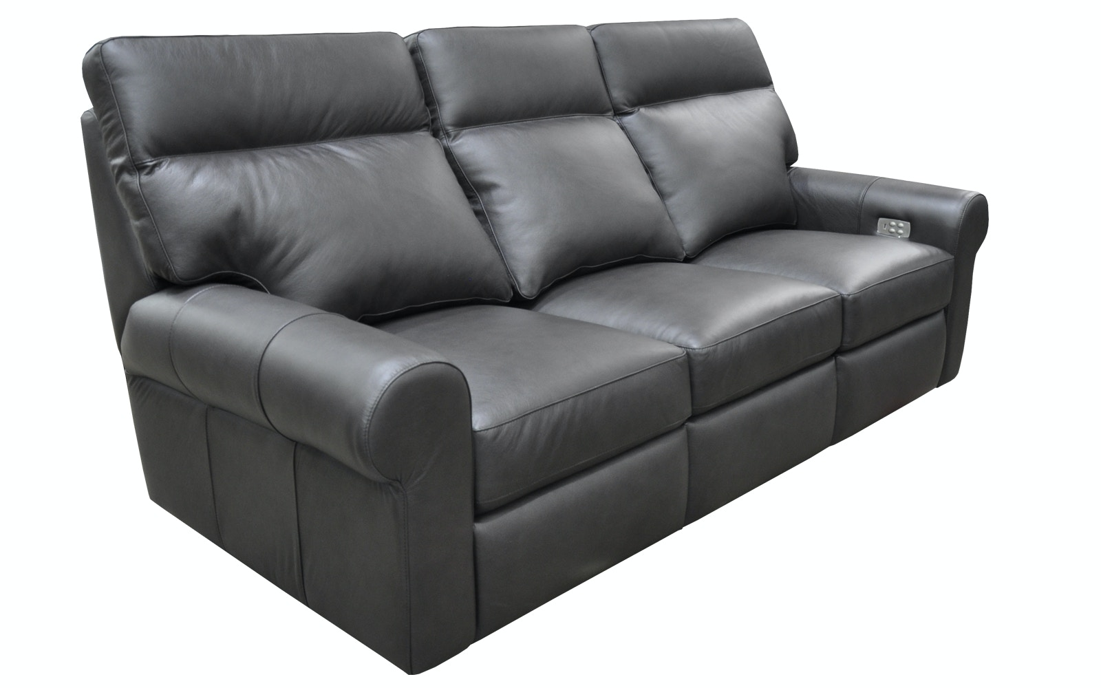 Brooklyn. Leather Reclining Sofa