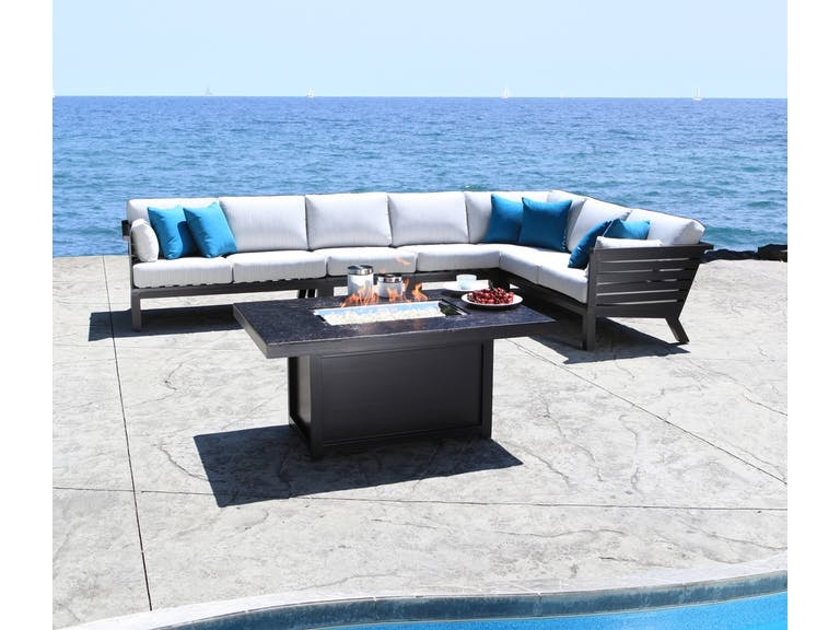 Ordinaire Outdoor Furniture By Goodu0027s Apex Sectional By Cabanacoast Furniture  30083 Sect