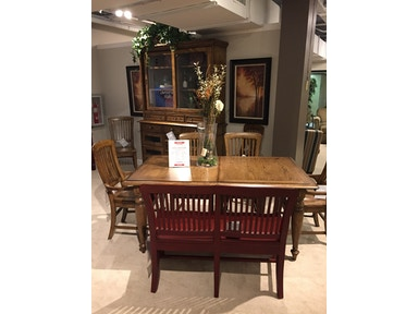 4808 513 Vintage Brown Dining Group By Broyhill Furniture