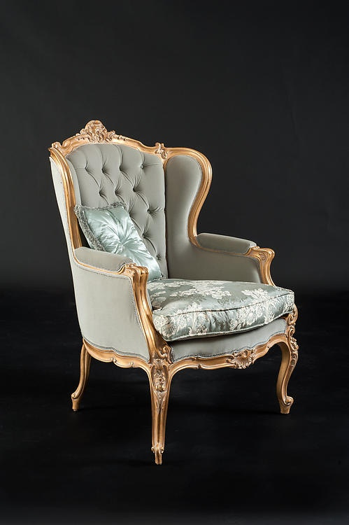 Lovely David Michael Furniture Tufted Back Arm Chair GL 1840 P