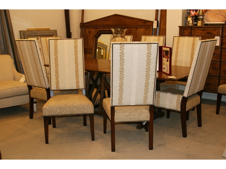 Henredon Factory Outlet Dining Room Set Of 10 Chairs SKU H1221 28 Is Available At Hickory Furniture Mart In NC And Nationwide