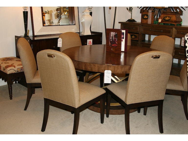 henredon factory outlet dining room set of 8 chairs by