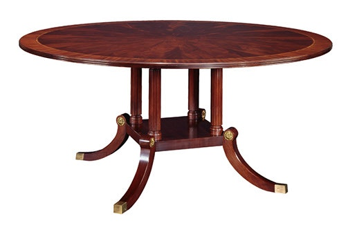 Henkel Harris Furniture Round Dining Table 2266 2266A