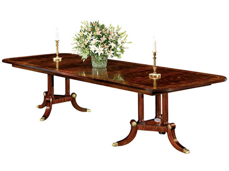 Henkel Harris Furniture Dining Room Rectangular Table 2276 Hickory Mart Nc