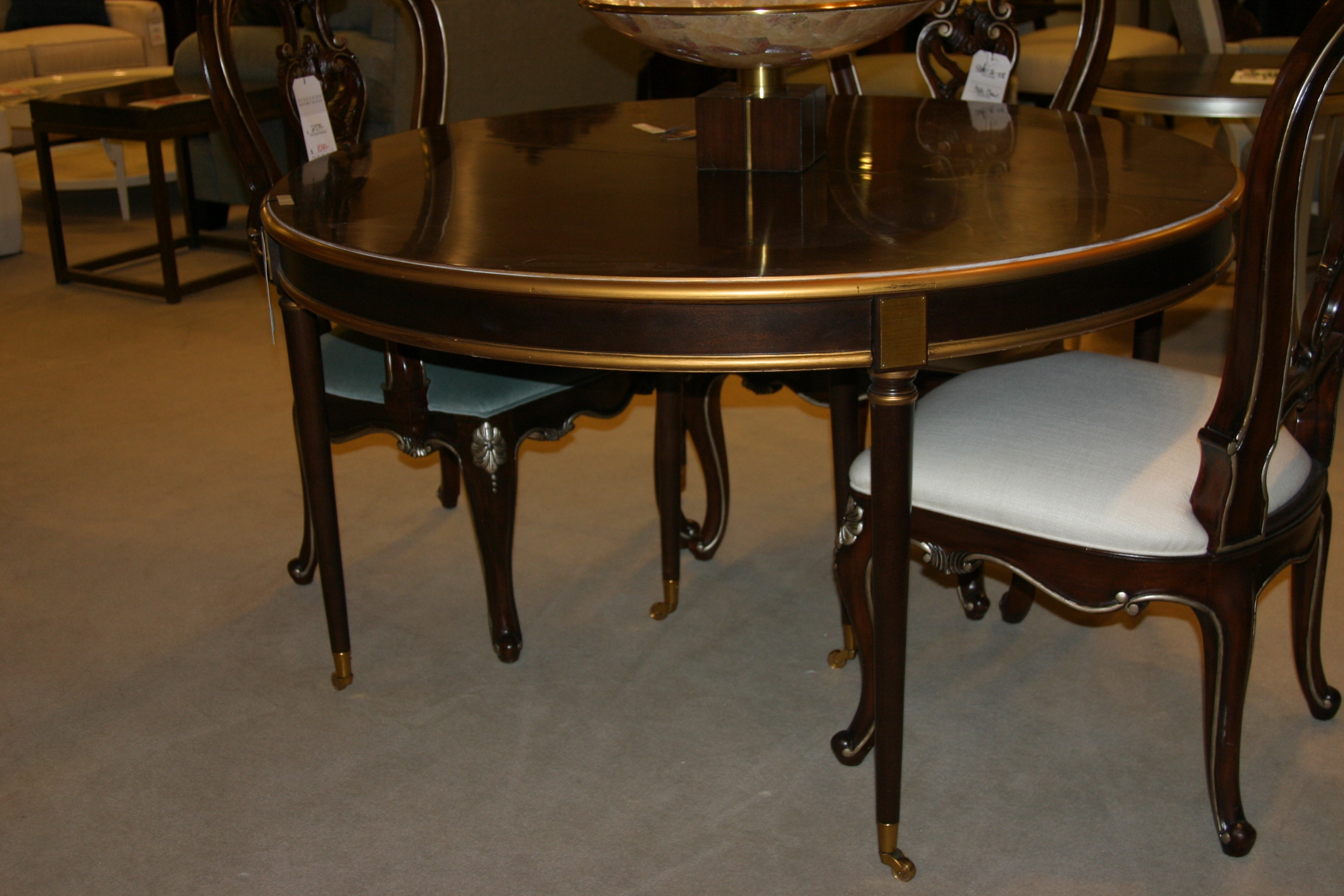 Hickory Chair Factory Outlet Choate Dining Table By Hickory Chair 1543 70