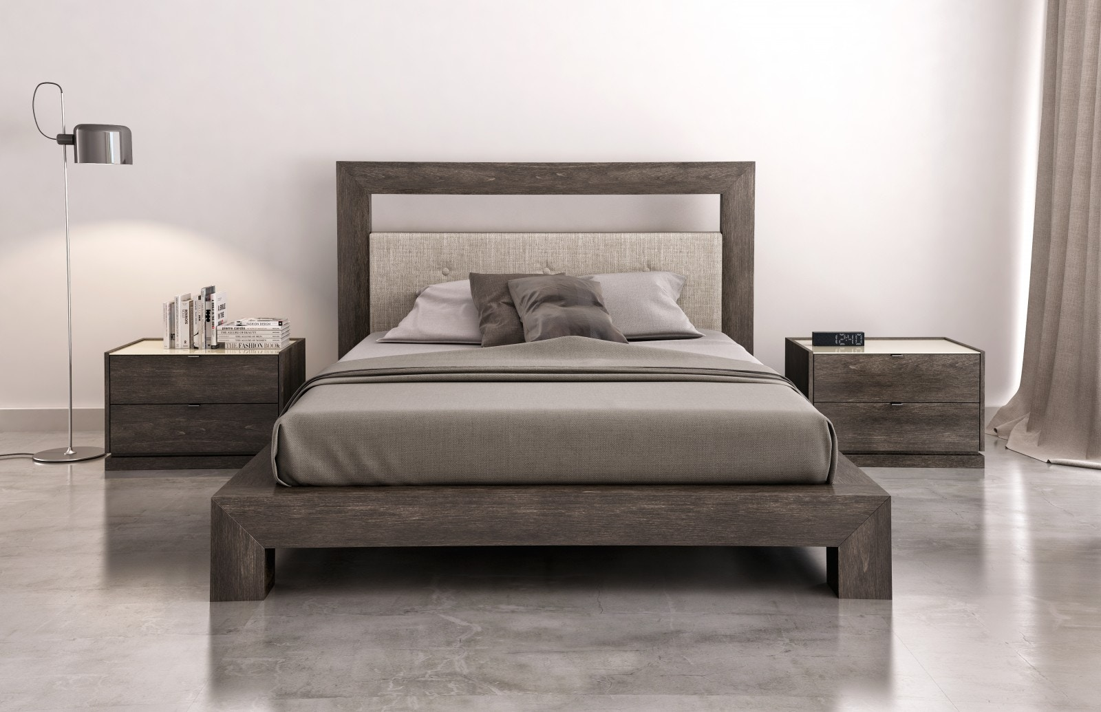 Zoom Bedroom CLO Bed by HUPP Furniture