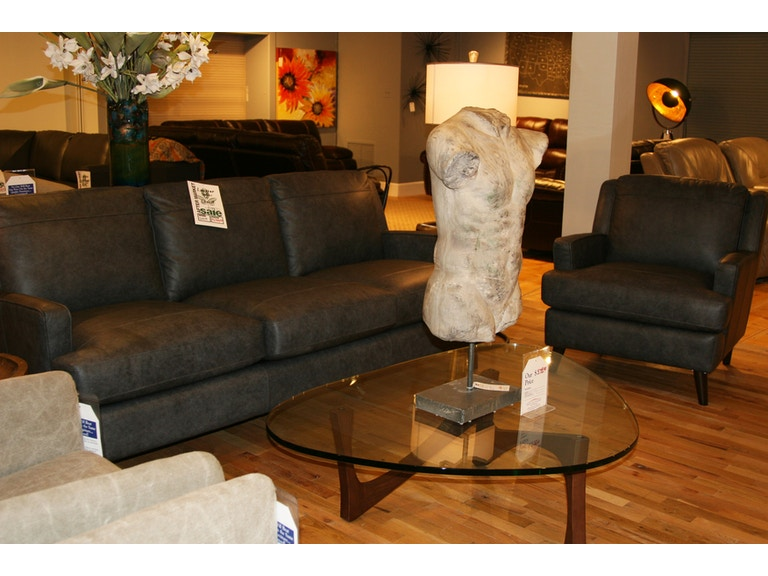 Reflections Furniture Outlet Leather Sofa And Chair Group 10
