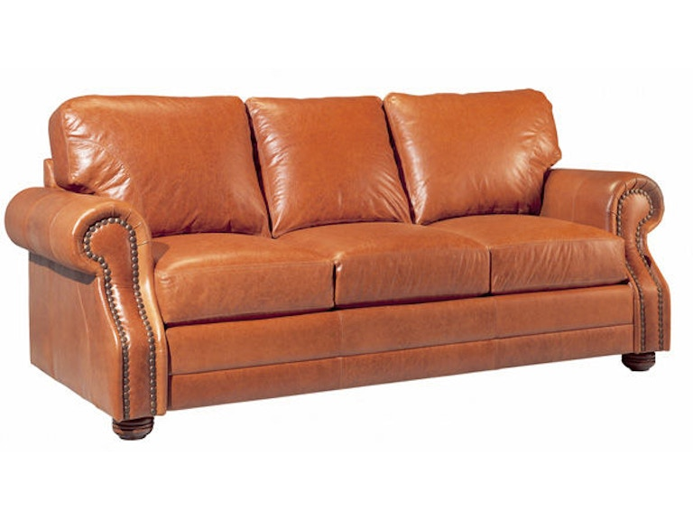 Leather And More Living Room Legacy Leather Sofa Houston Hickory - Leather furniture houston