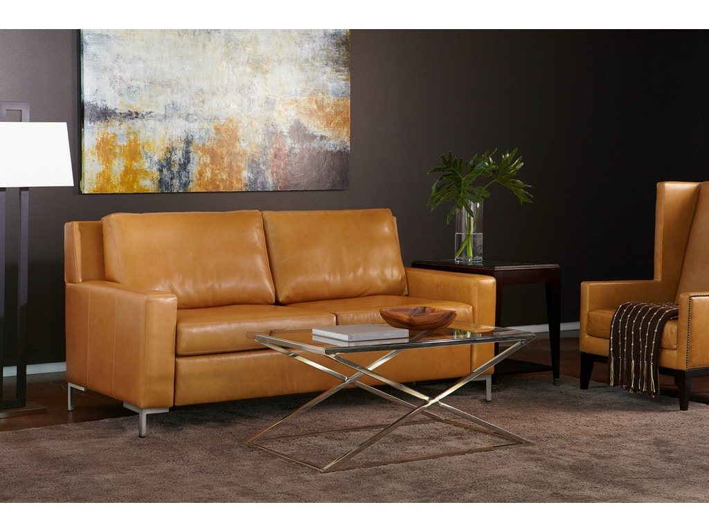 American leather by reflections living room bryanlee comfort sleeper sofa by american leather - Living room furniture your comfort is a priority ...