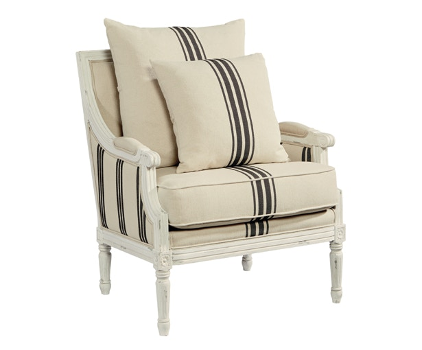 Magnolia Home By Joanna Gaines Parlor Chair   Onyx By Magnolia Home