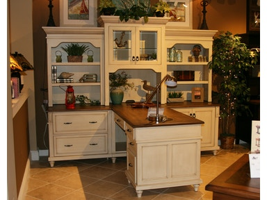 Amish Oak And Cherry Bridgepoint Collection By Partner Desk