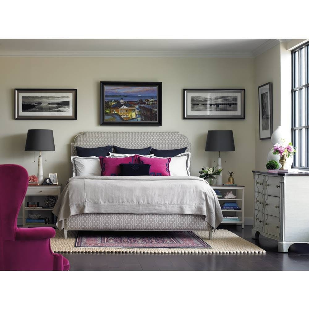 Stanley Furniture Outlet By Goodu0027s Charleston Regency   Peninsula  Upholstered Bed Queen By Stanley Furniture 302