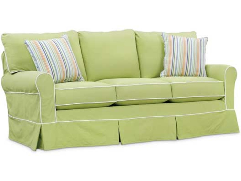 Southern Style Fine Furniture Sally Slip Cover Sofa By Washable Wonders