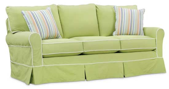 Superbe Southern Style Fine Furniture Sally Slip Cover Sofa By Washable Wonders