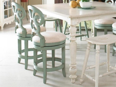Fine Furniture Design Summer Home Swivel Counter Stool 1053-927-S