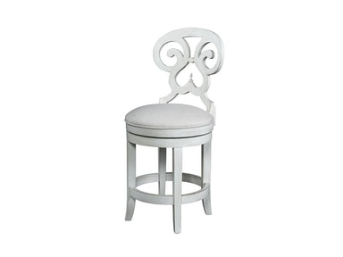 Fine Furniture Design Summer Home Swivel Counter Stool 1051-927-S
