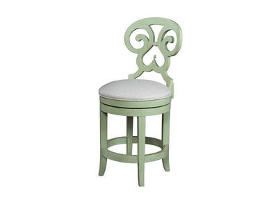 Fine Furniture Design Summer Home Swivel Counter Stool 1052-927-S
