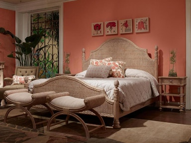Fine Furniture Design Palm Island Guesthouse Woven Bed, Queen 5/0 1220-451/452/453