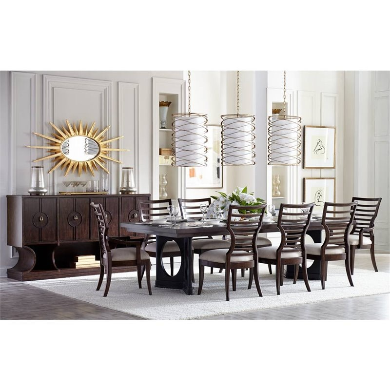 Stanley Furniture Double Pedestal Dining Table 696 11 36