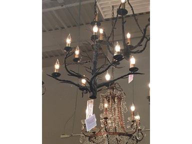 Currey and Company Treetop Chandelier 9327-GFO