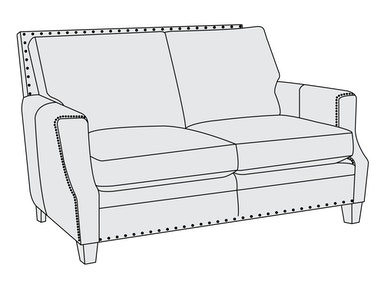 Bernhardt Furniture Barclay Loveseat 2685L