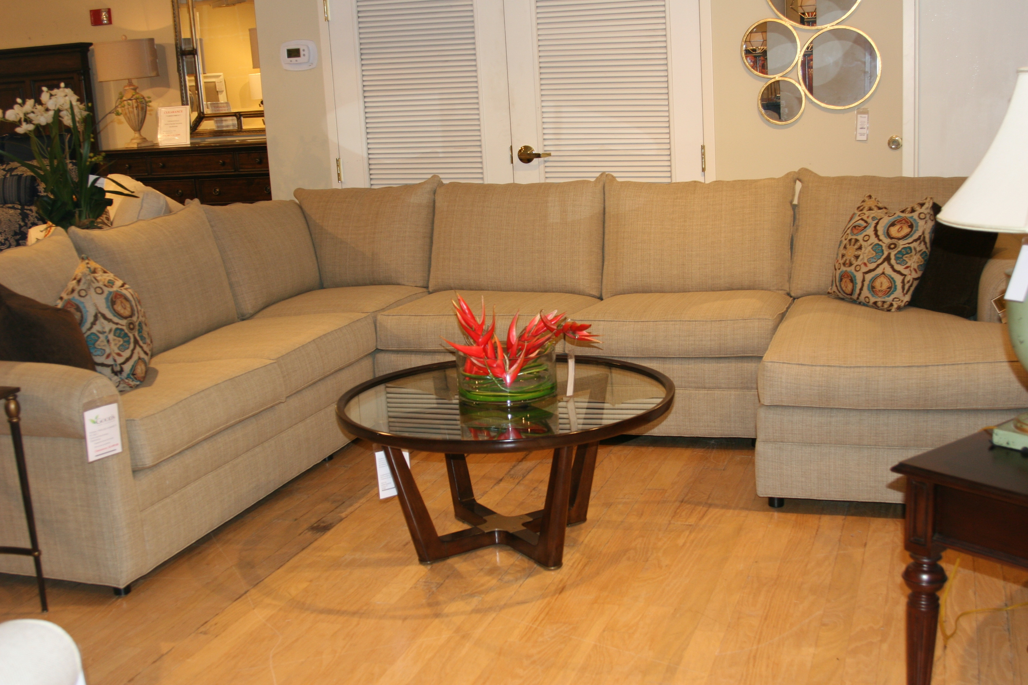 1903 L23C/A24/R27 Clearance. Concord 3 Piece Sectional By Thomasville  Furniture
