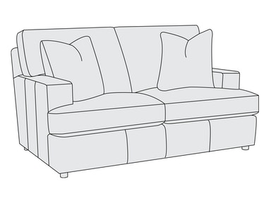 Bernhardt Furniture Winslow Loveseat 3415L