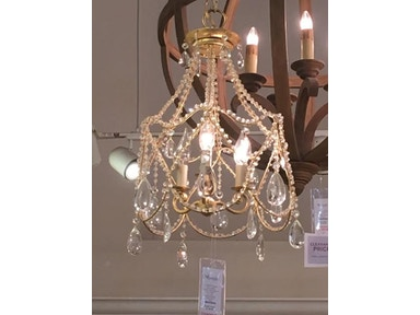 Currey and Company Eloise Chandelier 9928-GFO