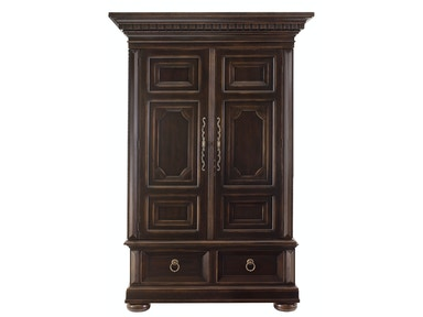 Bernhardt Furniture Pacific Canyon Armoire Deck and Armoire Base (Open Top) 349-147-349-146