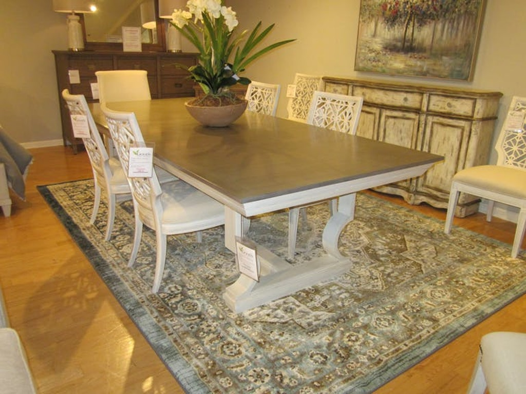 . Stanley Furniture Coastal Living Oasis Dining Group Dining Room 7