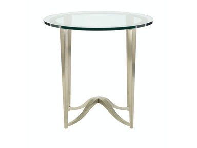 Bernhardt Furniture Miramont Round Chairside Table 360-125G/360-125