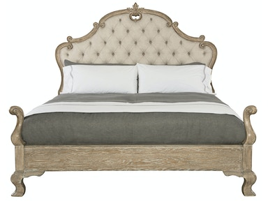 Bernhardt Furniture Campania Upholstered Panel Bed 370-H66-F66-R66