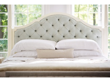 Bernhardt Furniture Savoy Place Upholstered Poster Bed Headboard (King) 371-H59A