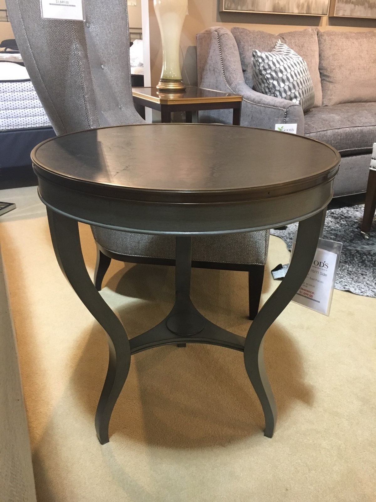 Hickory Chair Furniture Suzanne Kasler Side Table 1583 70/71 Clearance