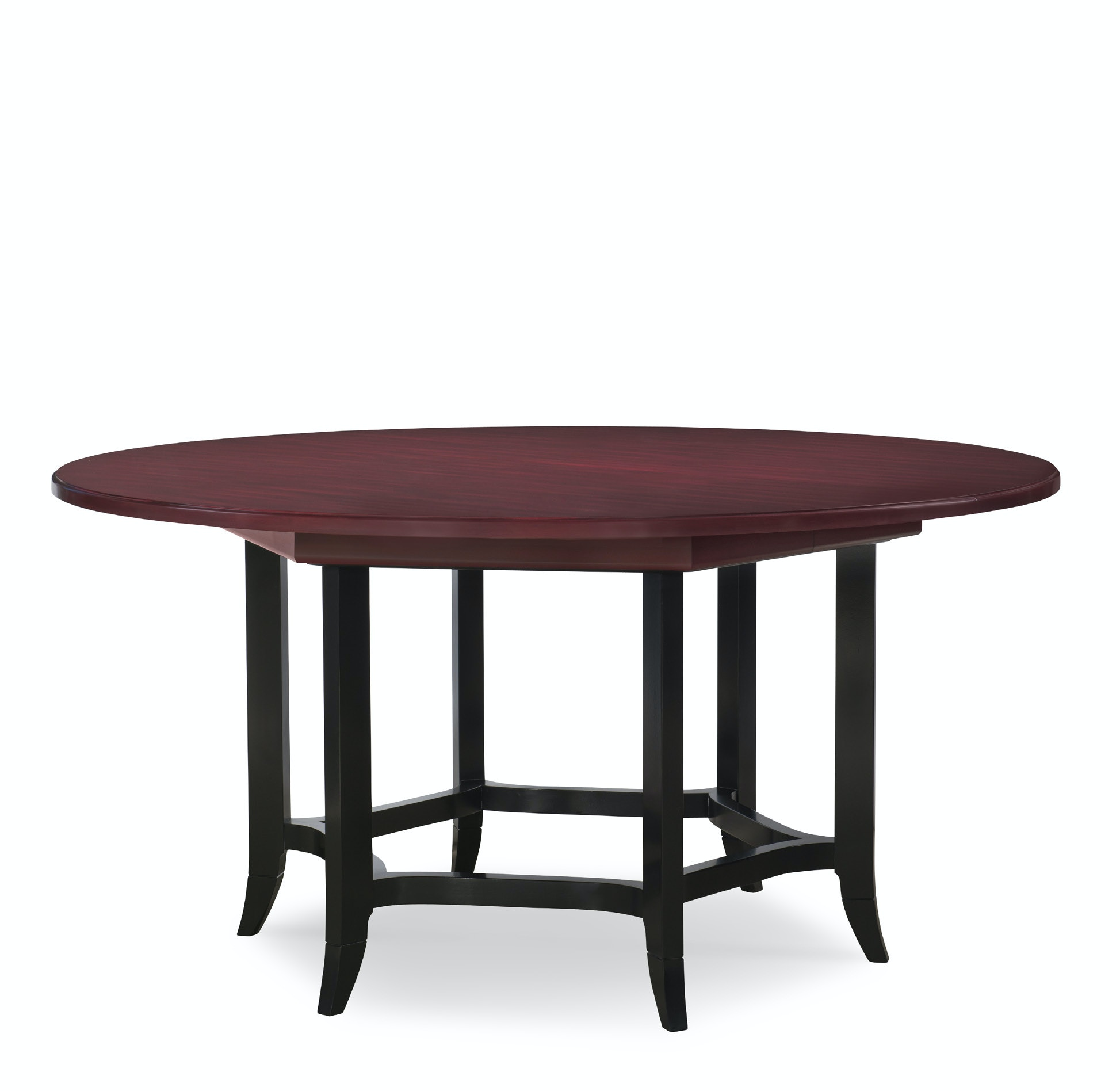 Henkel Harris Furniture Round Dining Table With 1 24in Apron Filler 440V