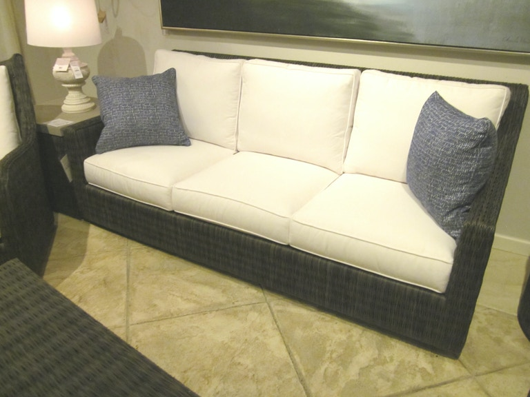 Tommy Bahama Outdoor 3900-31 Clearance Cypress Point Ocean Terrace Demi Sofa  * FLOOR SAMPLE - INDIVIDUAL ITEM * * MUST BE SOLD AS A COMPLETE SET * - Tommy Bahama Outdoor 3900-31 Clearance OutdoorPatio Cypress Point