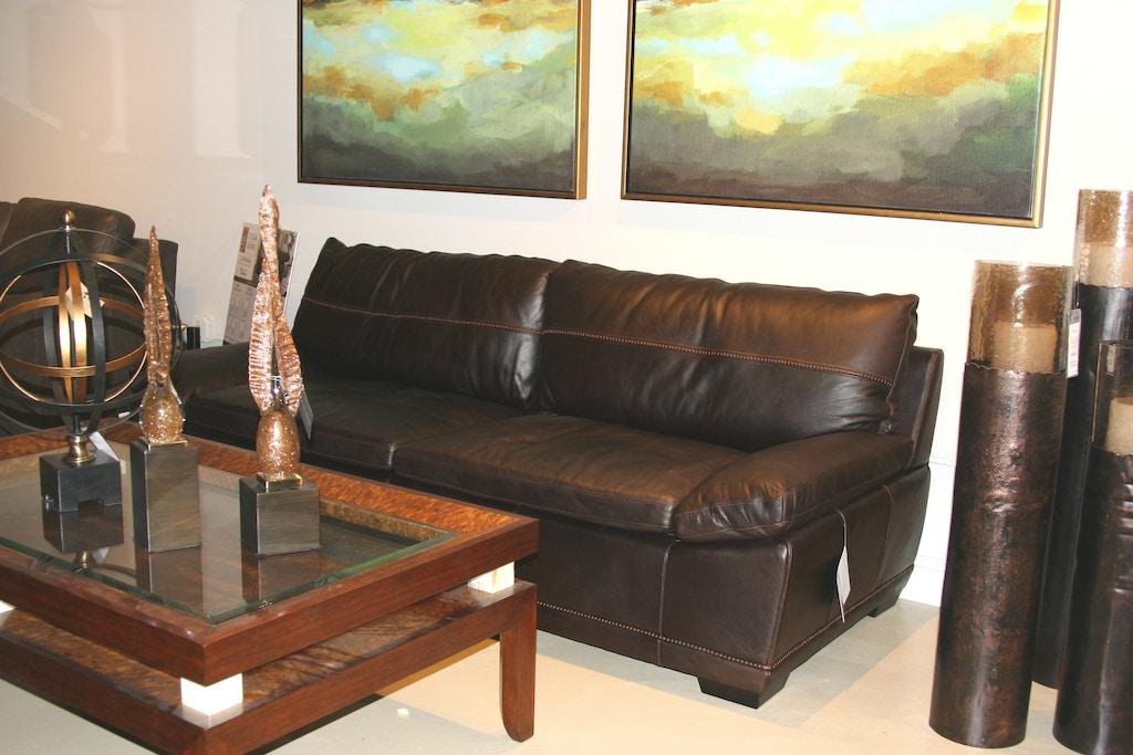 Fantastic Bernhardt 4057Lo Outlet Living Room Prescott Leather Sofa Pdpeps Interior Chair Design Pdpepsorg