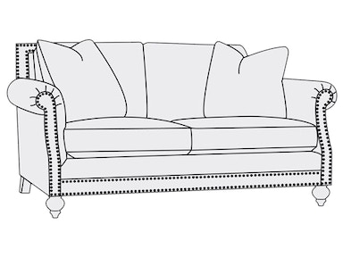 Bernhardt Furniture Brae Loveseat 6715L