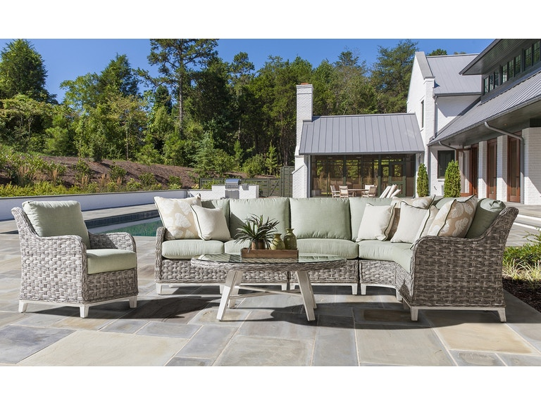 Groovy South Sea Outdoor Living 77400 Outdoorpatio Grand Isle Sectional Theyellowbook Wood Chair Design Ideas Theyellowbookinfo