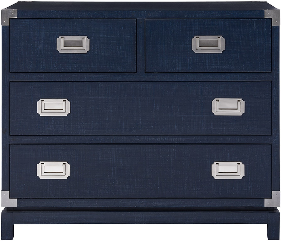 Coastal Living by Universal 833D360 Living Room Coastal Campaign Chest