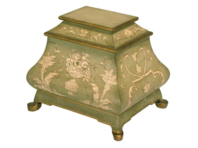 Accents Beyond Furniture Hand Painted Box 08-2309