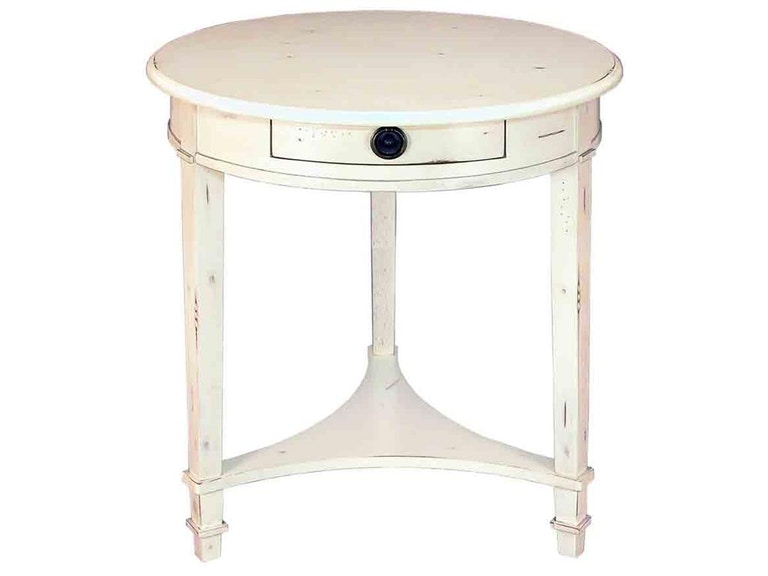 Accents Beyond Furniture Round 3 Leg Table 1048-W
