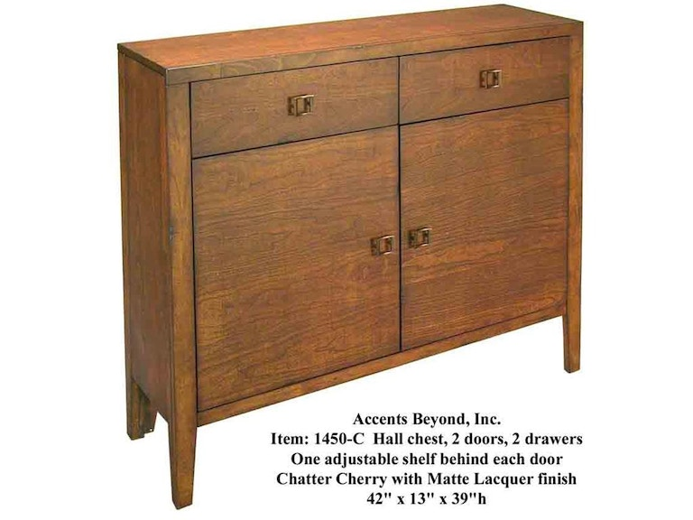 Accents Beyond Furniture Hall Chest 1450-C