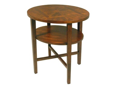 Accents Beyond Furniture Living Room Oval End Table