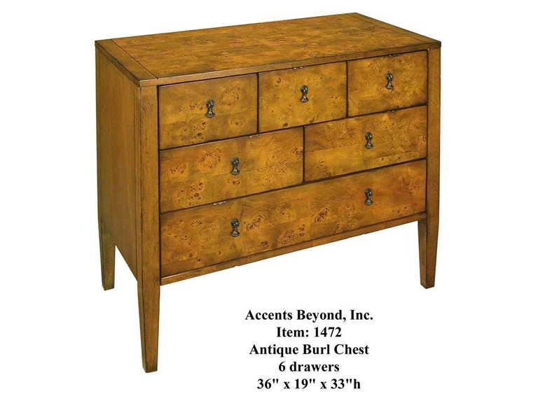 Accents Beyond Furniture Chest 1472